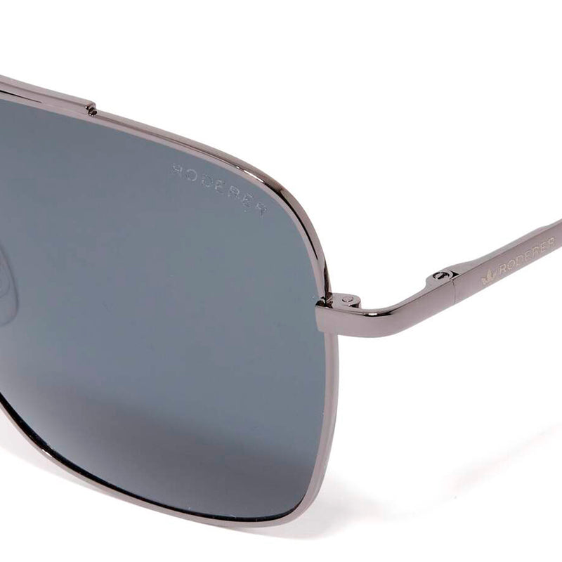 HARRY AVIATOR SUNGLASSES > GUNMETAL / BLACK