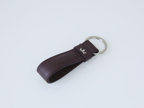 Roderer Loop Key Holder Milano Burgundy