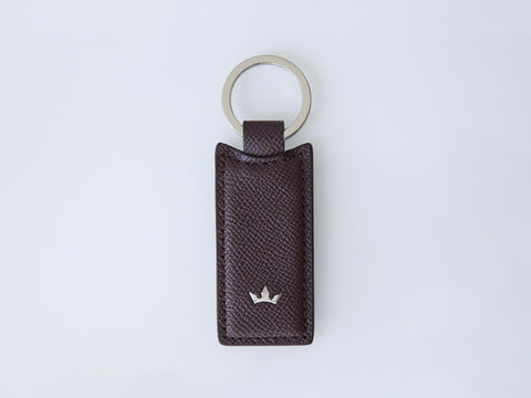 Roderer Rectangular Key Holder Milano Burgundy