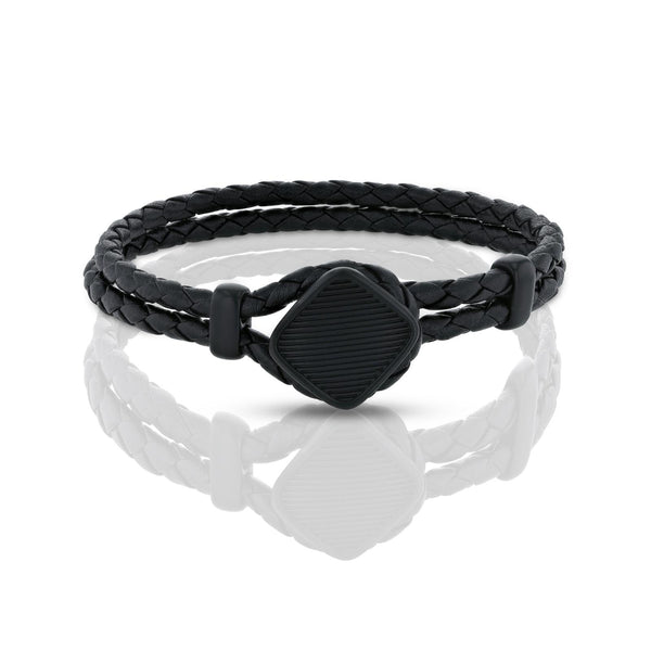 LUCA BRACELET > BLACK ON BLACK
