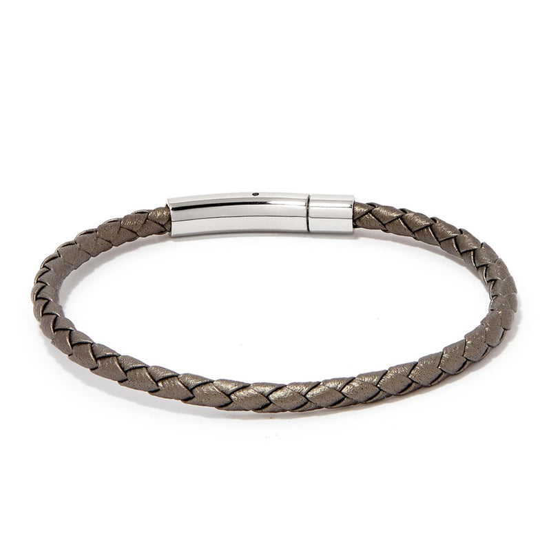 MATTEO BRACELET > METALLIC GREY