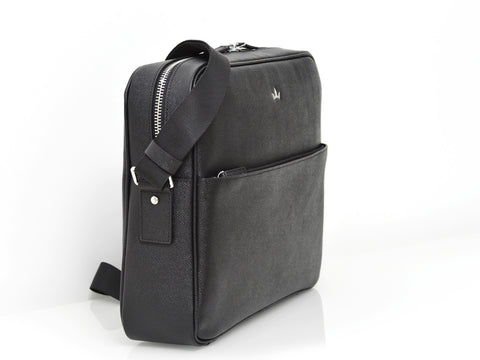 Roderer Messenger Bag Milano Black