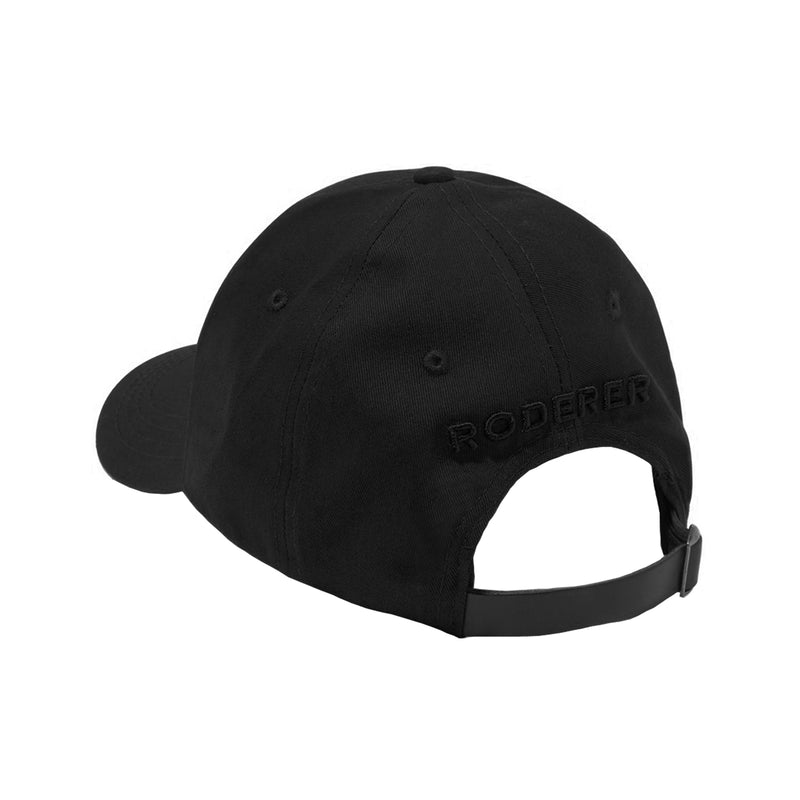 NOVA BASEBALL CAP > 3D EMBROIDERED LOGO BLACK