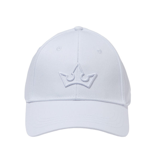 NOVA BASEBALL CAP > 3D EMBROIDERED LOGO WHITE