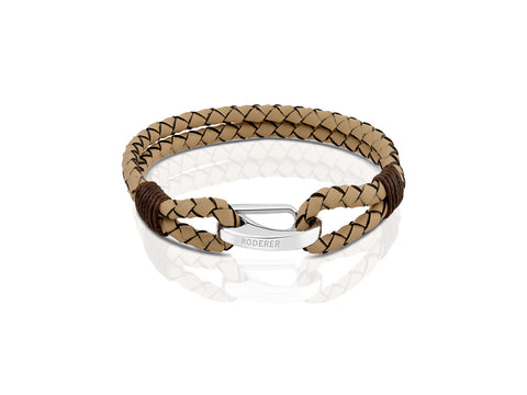 BRACELET MARCO BROWN / ROSE GOLD