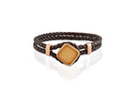 RODERER BRACELET LUCA BROWN / ROSE GOLD