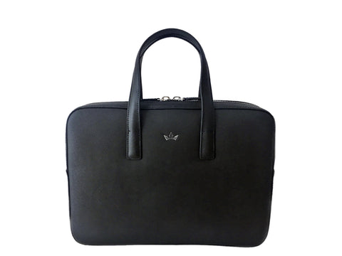 Roderer Business Bag Small Trophy Saffiano Black