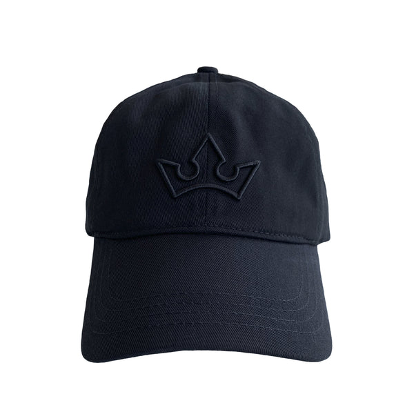 CROWN CAP > LOGO EMBROIDERED BLACK