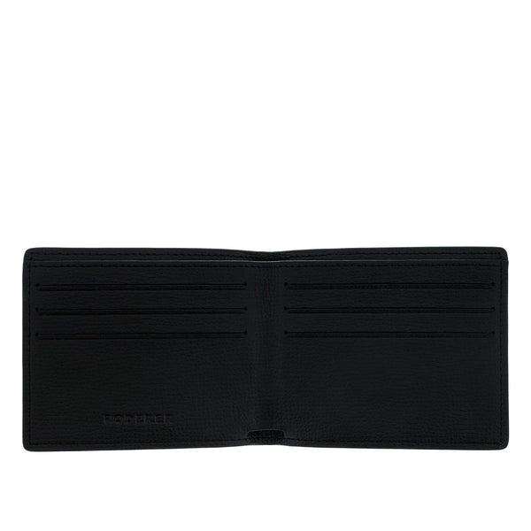 TROPHY 6CC BIFOLD > ITALIAN LEATHER BLACK