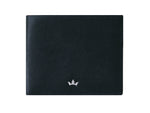 Roderer Trophy Bifold Wallet 8 Card Saffiano Black