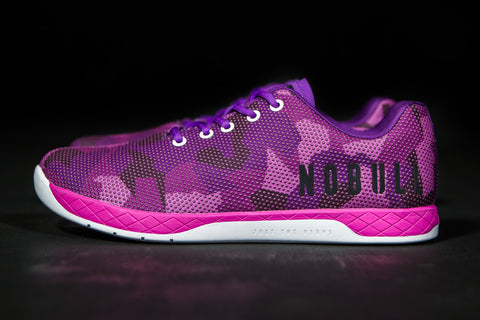 PURPLE CAMO TRAINER (WOMEN'S)