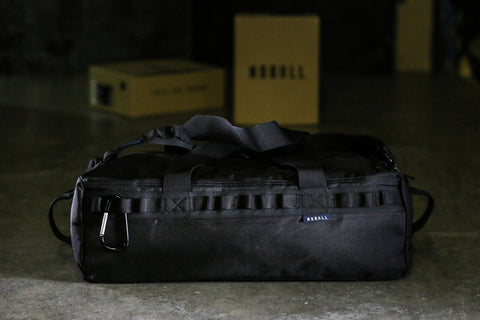 TRADITIONAL DUFFLE (BLACK) - NOBULL - 1