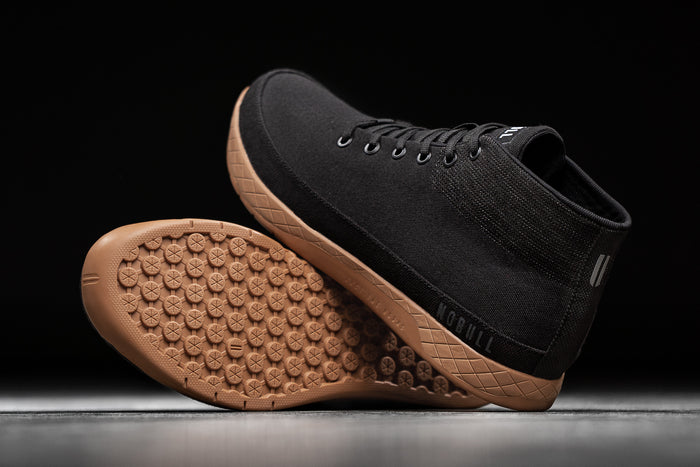 BLACK COFFEE CANVAS MID TRAINER (MEN'S)