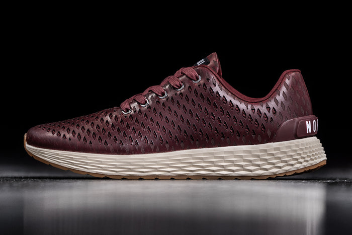 BURGUNDY LEATHER RUNNER (WOMEN'S)