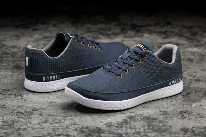 DARK DENIM CANVAS TRAINER (WOMEN'S)