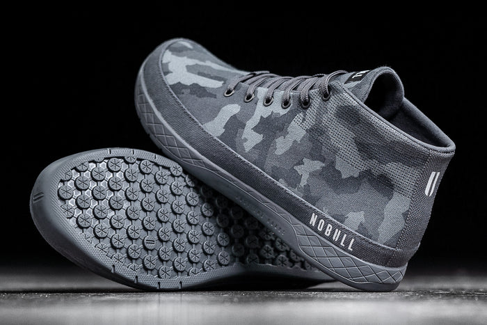 DARK CAMO CANVAS MID TRAINER (WOMEN'S)