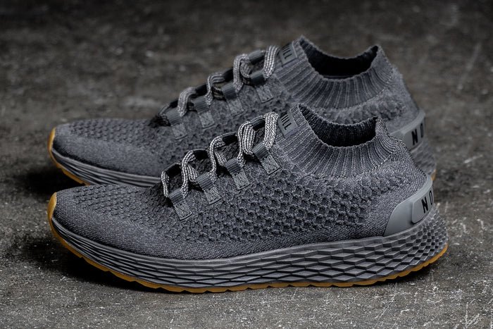 DARK GREY KNIT RUNNER (WOMEN'S)