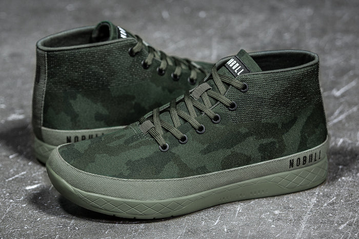 FOREST CAMO CANVAS MID TRAINER (MEN'S)