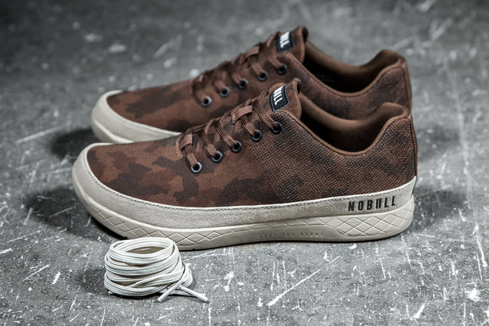 GRIZZLY CAMO CANVAS TRAINER (MEN'S)