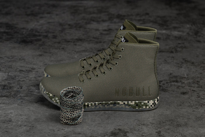 HIGH-TOP ARMY PIXEL TRAINER (WOMEN'S)
