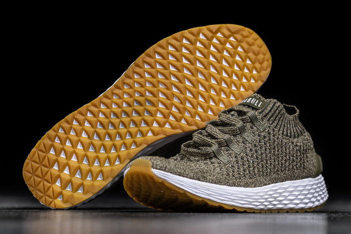 OLIVE KNIT RUNNER (MEN'S)