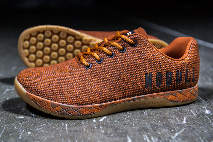 ORANGE HEATHER TRAINER (MEN'S)