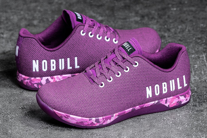 PURPLE HEATHER TRAINER (MEN'S)
