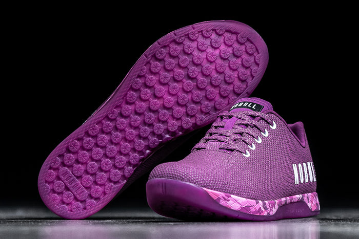 PURPLE HEATHER TRAINER (WOMEN'S)