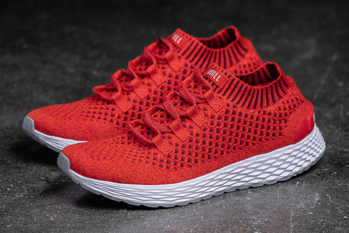 RED KNIT RUNNER (MEN'S)