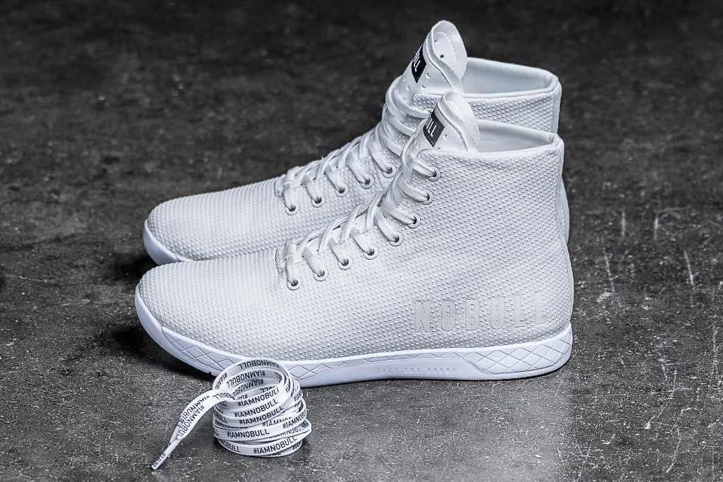 6d71150f2a172 HIGH-TOP WHITE TRAINER (WOMEN'S)