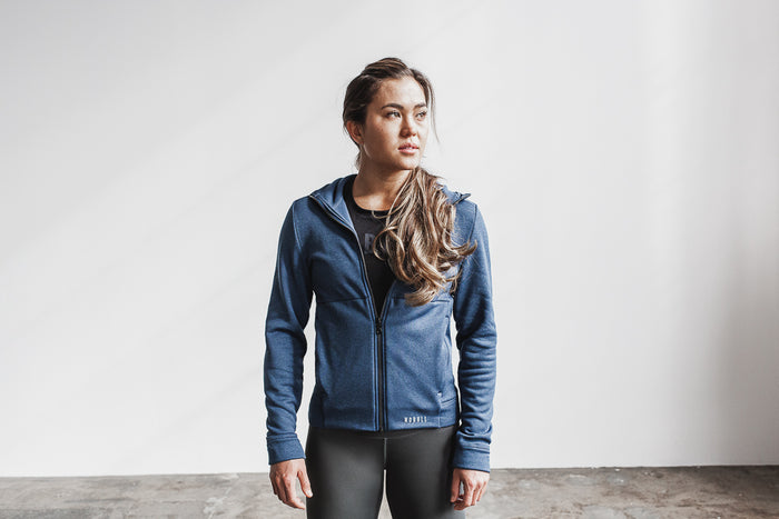 WOMEN'S PERFORMANCE ZIP-UP HOODIE