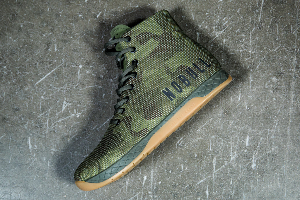 HIGH-TOP ARMY CAMO TRAINER (MEN'S)