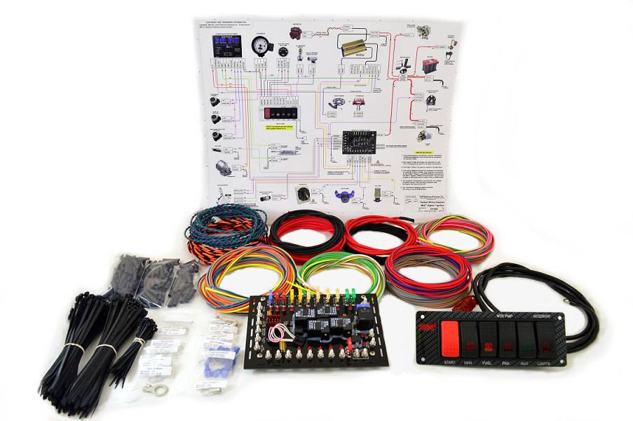 K & R Performance Super Duty Complete Wiring Kit w/diagram