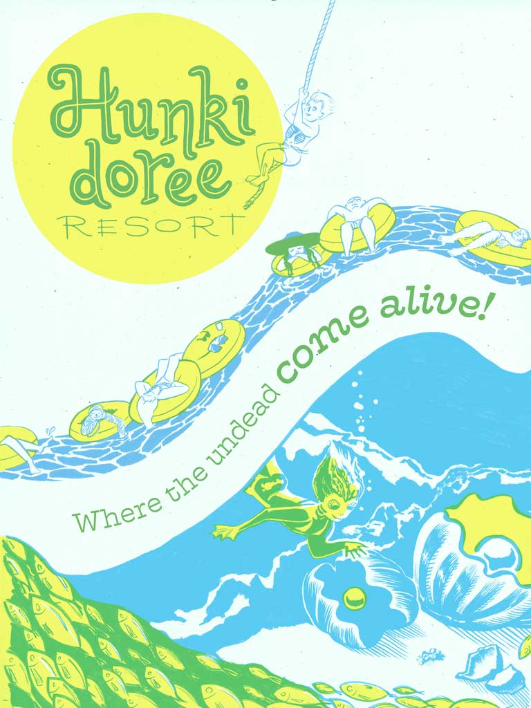 PRE-ORDER: Hunkidoree Resort Water Activities poster