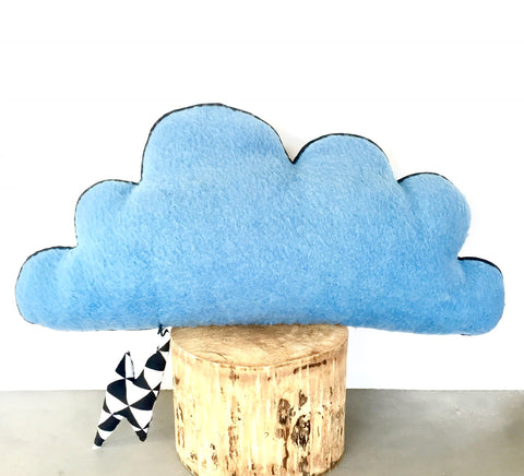Kussen 'Cloud' blue