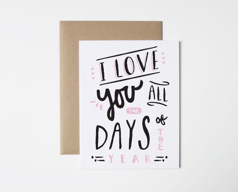 All The Days Card