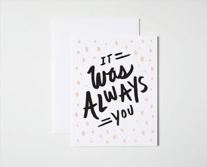 Always You Card