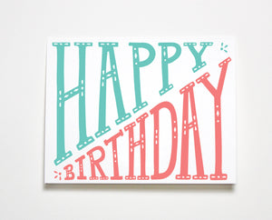 Birthday Stretch Card
