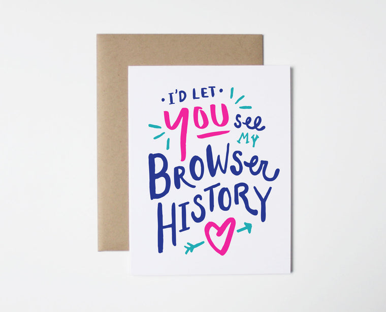 Browser History Card