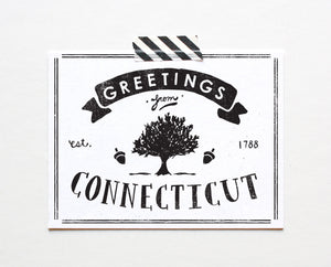 State of Connecticut Postcard