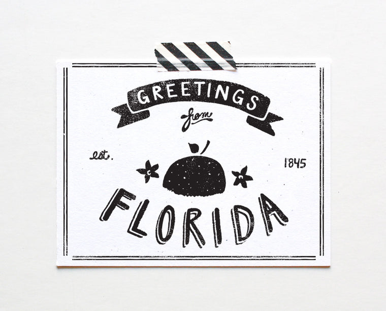 State of Florida Postcard