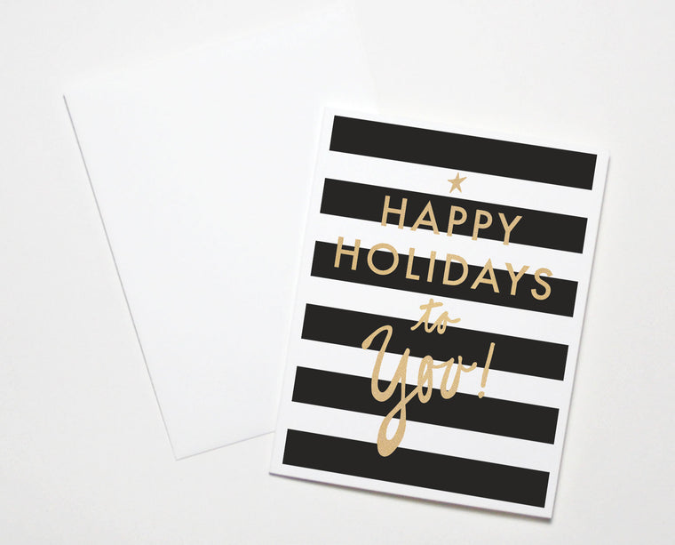 Happy Holidays To You Card