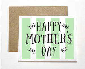 Happy Mother's Day Classic Card