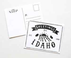 State of Idaho Postcard
