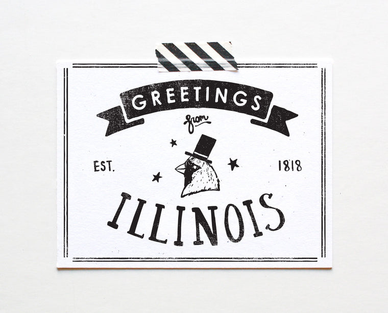 State of Illinois Postcard