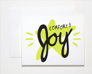 Comfort & Joy Holiday Card