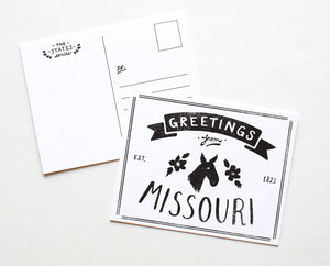 State of Missouri Postcard