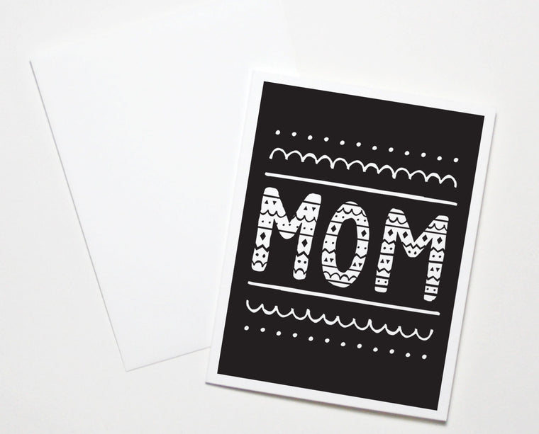 Mom Doodle Card