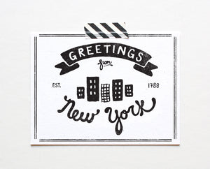 State of New York Postcard