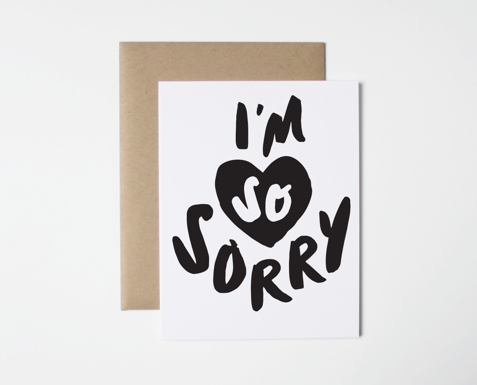 i m so sorry card the paper cub co